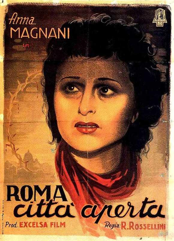 All roads lead to rome open city white city cinema for Piscine ouverte