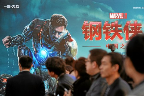 CHINA-US-ENTERTAINMENT-IRON MAN