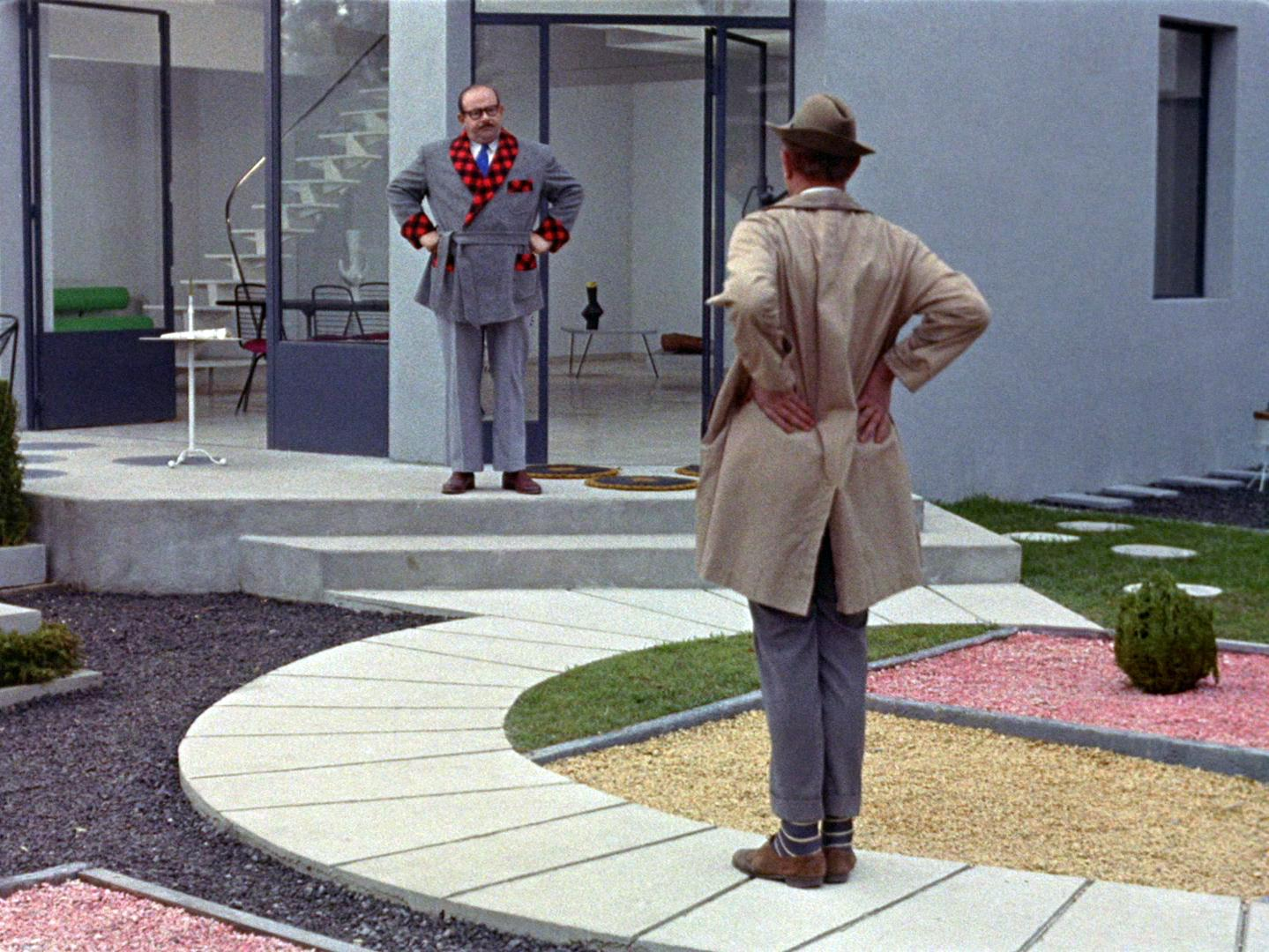 Jacques tati white city cinema - Jacques tati mon oncle ...